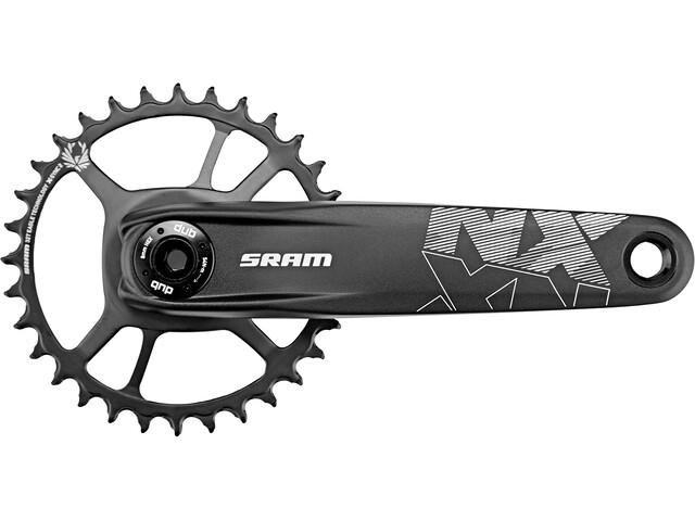 SRAM NX Eagle DUB Manivelle DM X-SYNC 32 dents 12 vitesses, black
